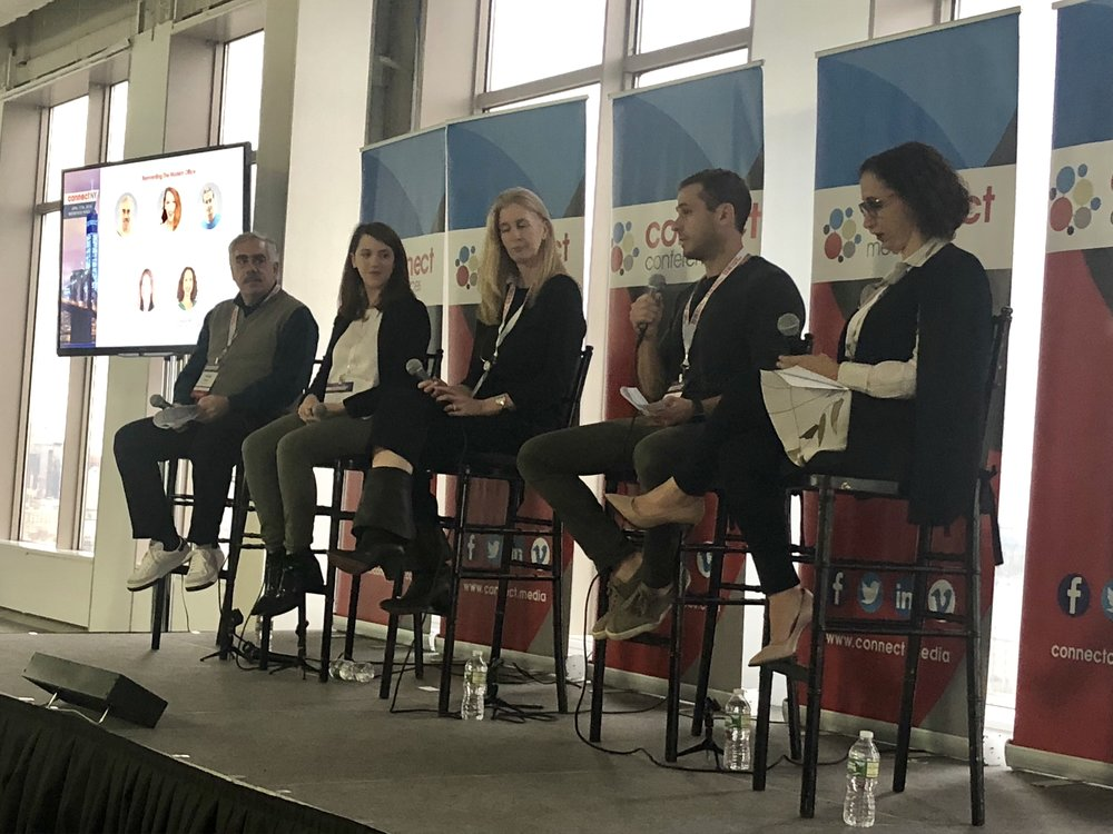 From left to right: Phil Russo, Partner at MetaProp, Francesca Loftus, CEO & Co-Founder at hOM, Rachel Robinson, LEED AP, Senior Associate, Design Director at Ted Moudis Associates, Lee Hoffman, Co-Founder at Heat Watch and Tamar Moy, Senior Managing Director at Newmark Knight Frank.