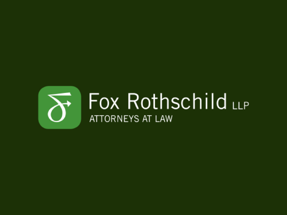 Fox Rothchild LLP - Fox Rothschild LLP is a national law firm with more than 800 attorneys in 21 offices coast to coast.Fox Rothschild is a national leader in the Emerging Companies & Venture Capital space and supports accelerator companies with legal matters.