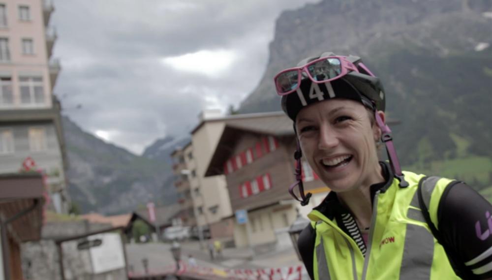 PLEASURE: Johanna   Josten-van Duinkerken (141) arriving into CP2