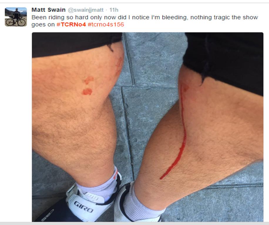 PAIN: Matt Swain (156)