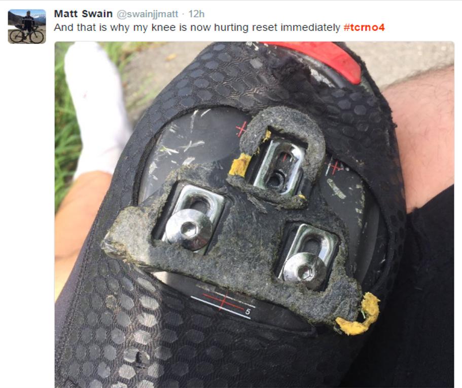 Matt Swain (156) has a screw loose
