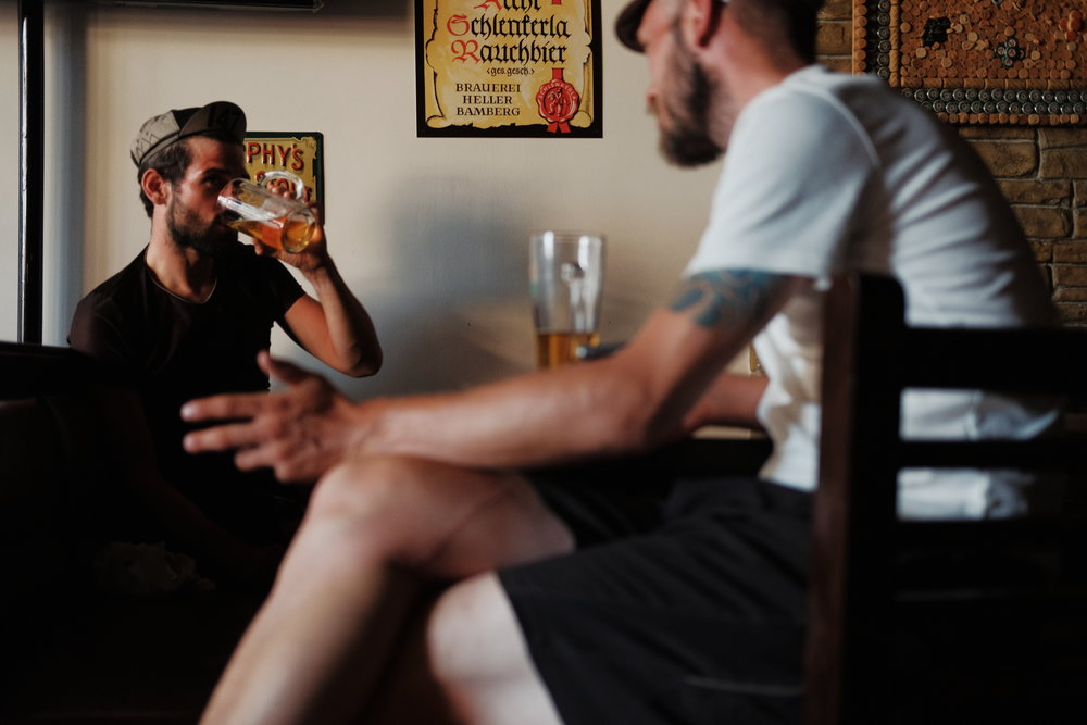 Pub 38 in Meteora. Photograph: James Robertson