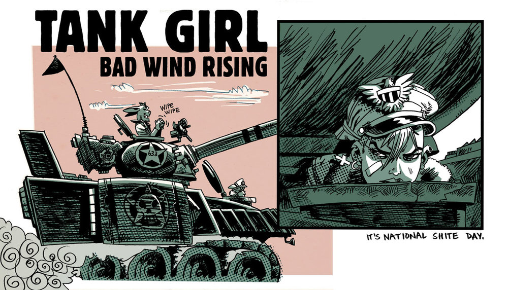 Rufus Dayglo TANK GIRL Cool Tank Girl Quotes