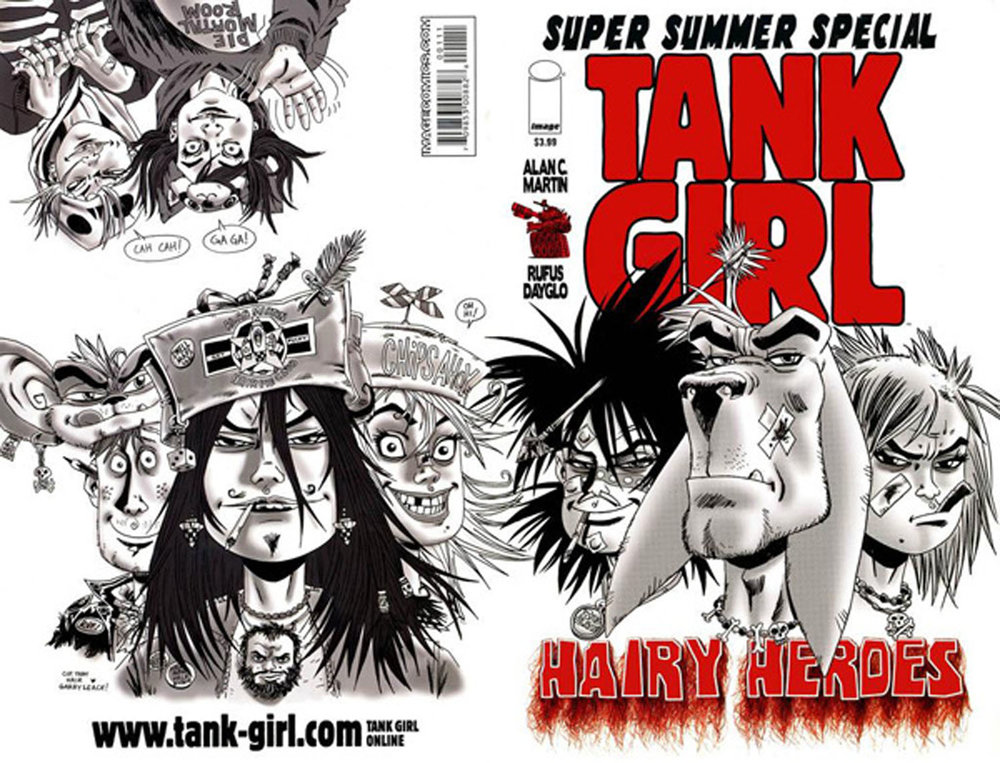 Rufus Dayglo TANK GIRL Delectable Tank Girl Quotes