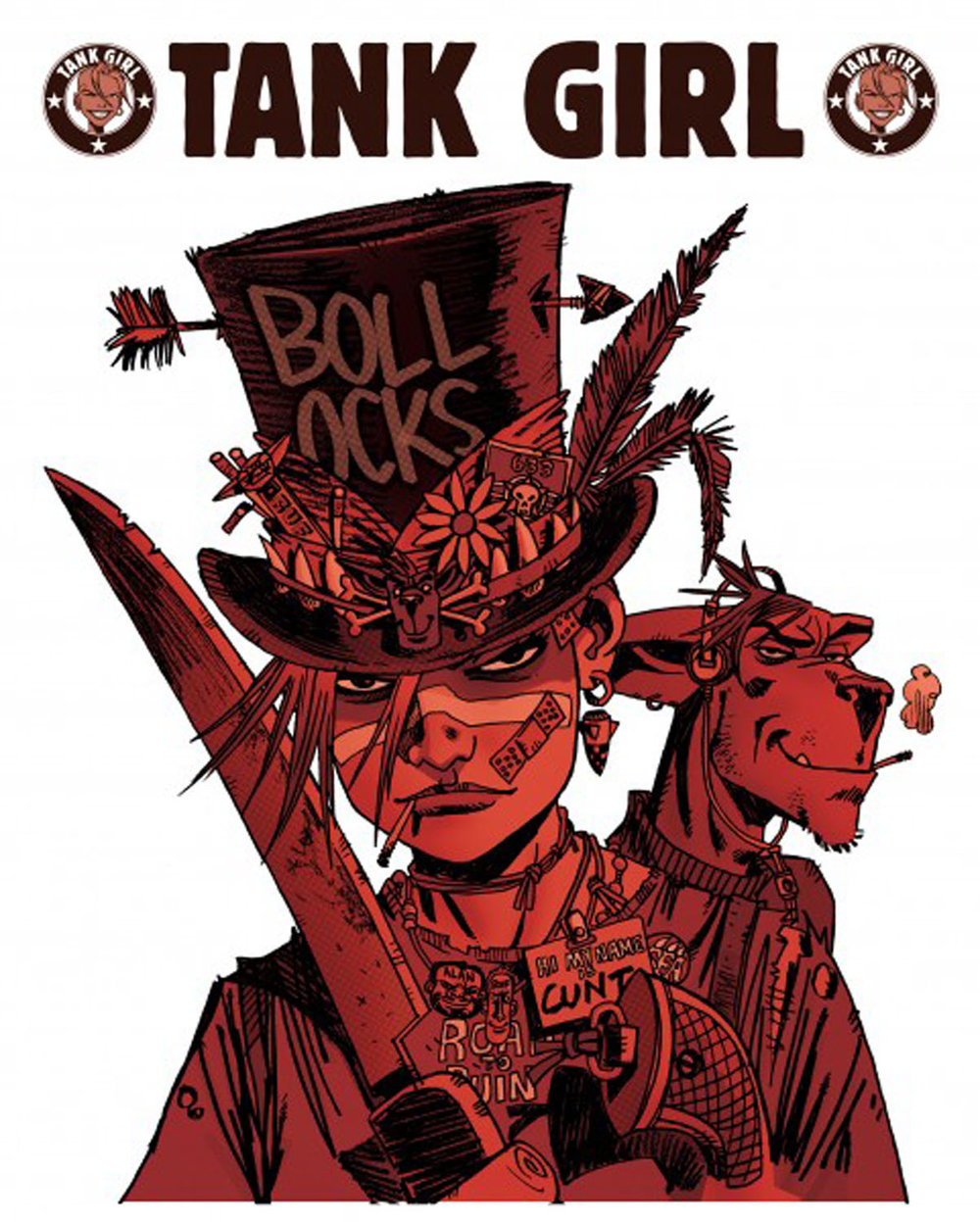 Tank Girl Quotes Rufus Dayglo  Tank Girl
