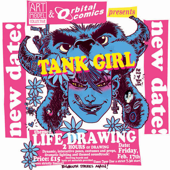rufus dayglo comics tank girl life drawing