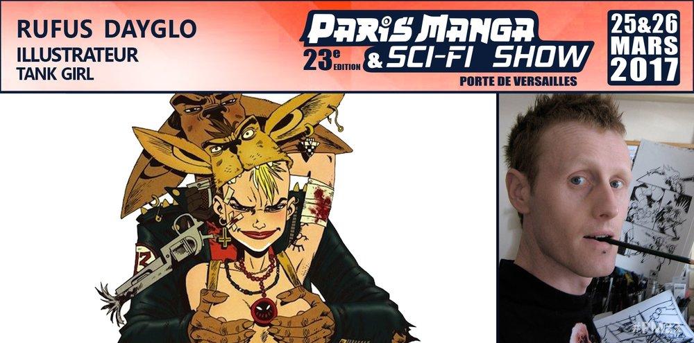 paris manga sci fi rufus dayglo comics