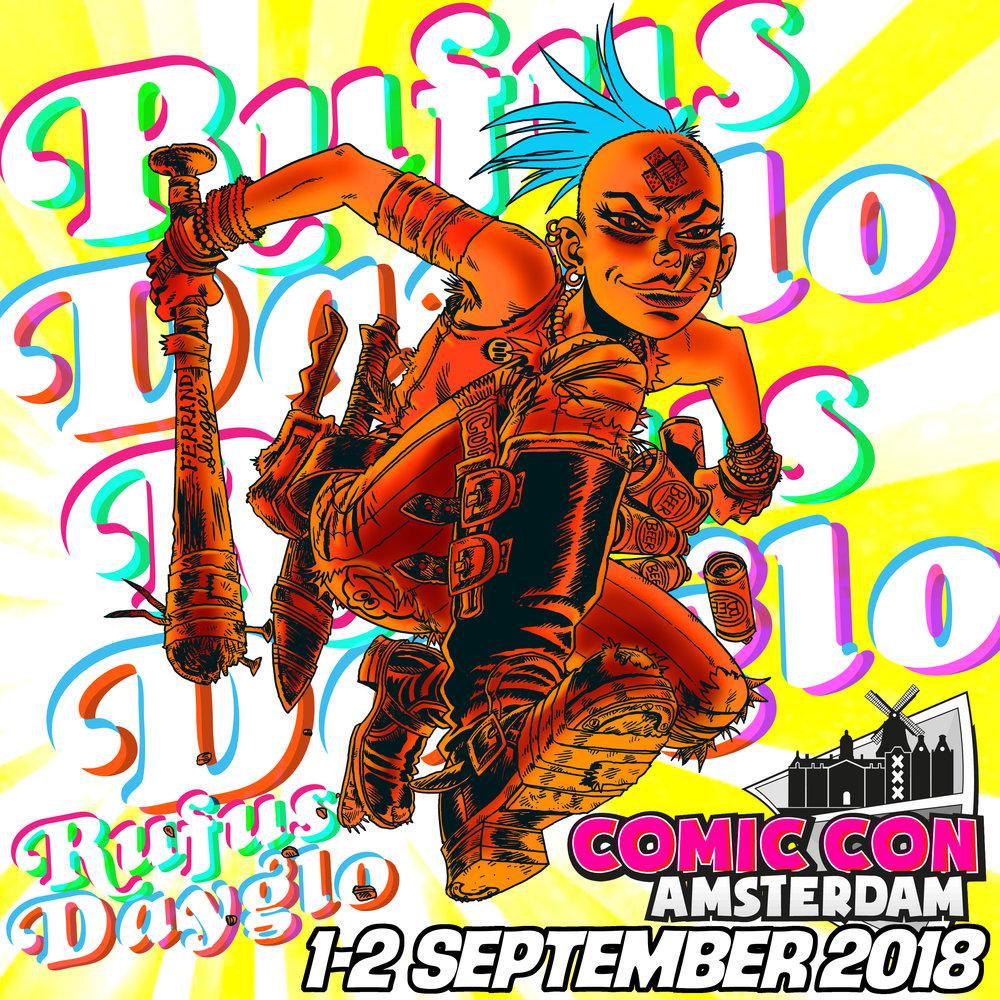 Amsterdam Comic Con 2018