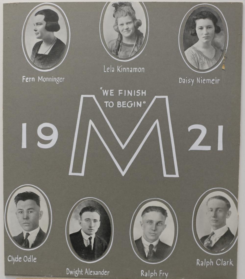 Montezuma Class of 1921
