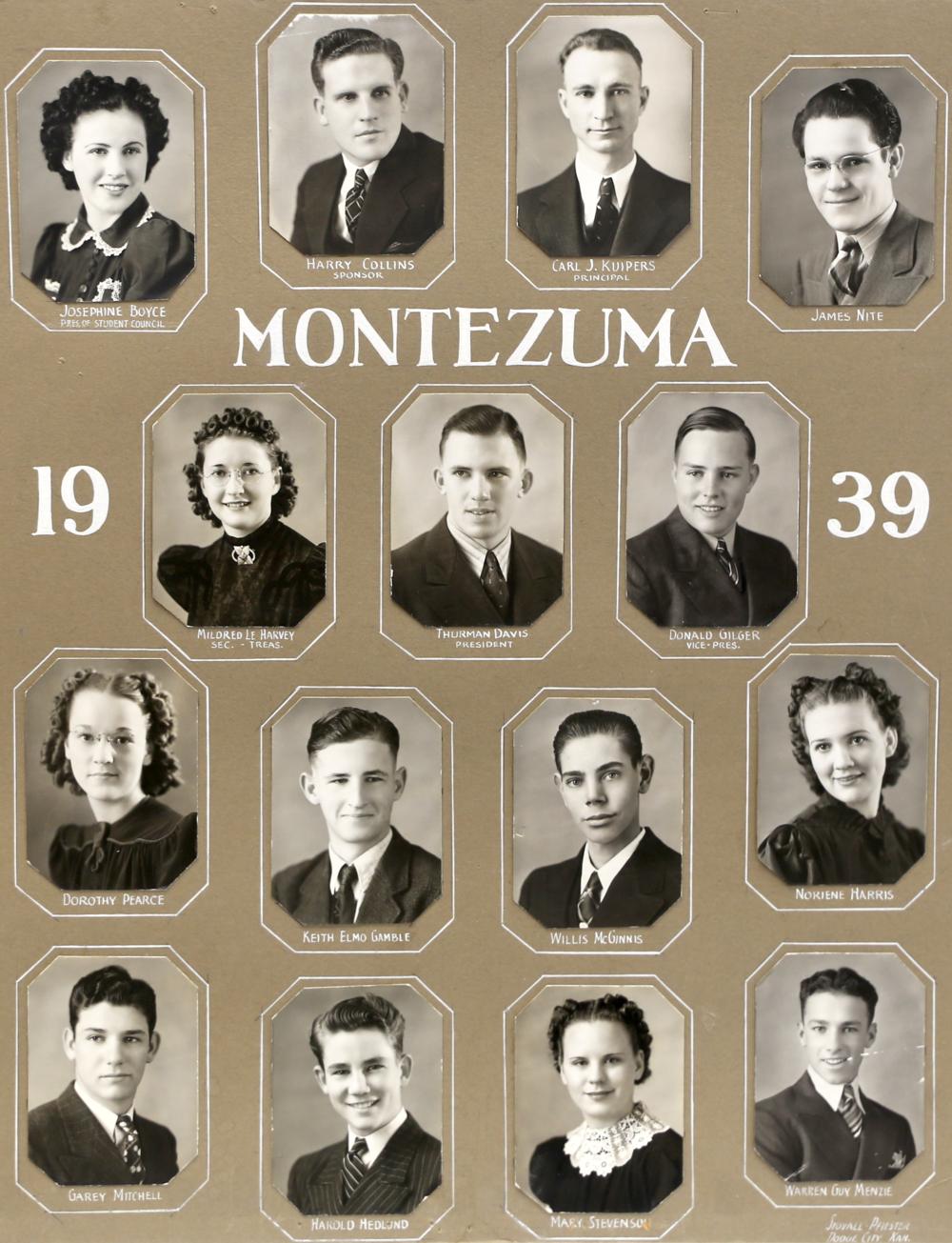 Montezuma GC 1939