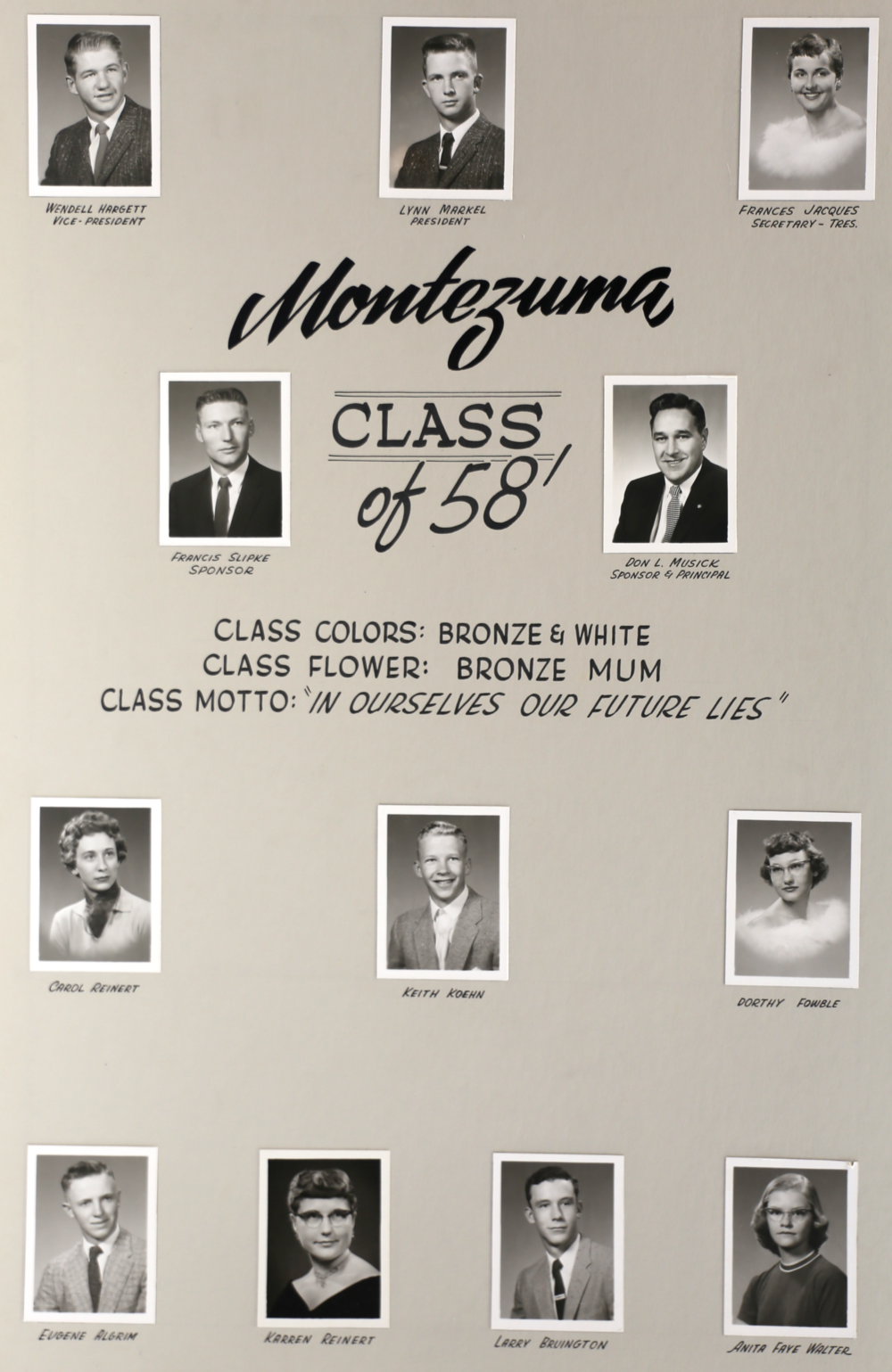 Montezuma GC 1958
