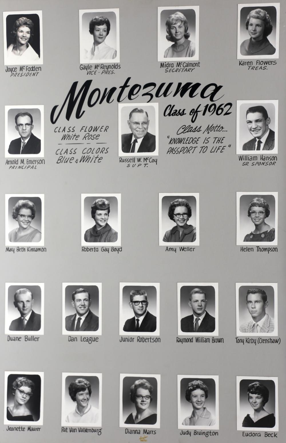 Montezuma GC 1962