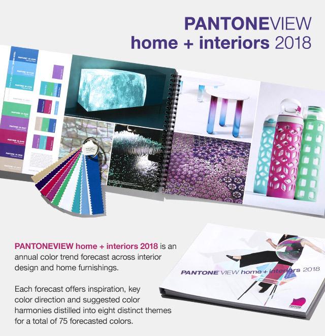 Pantone Home + Interior 2018