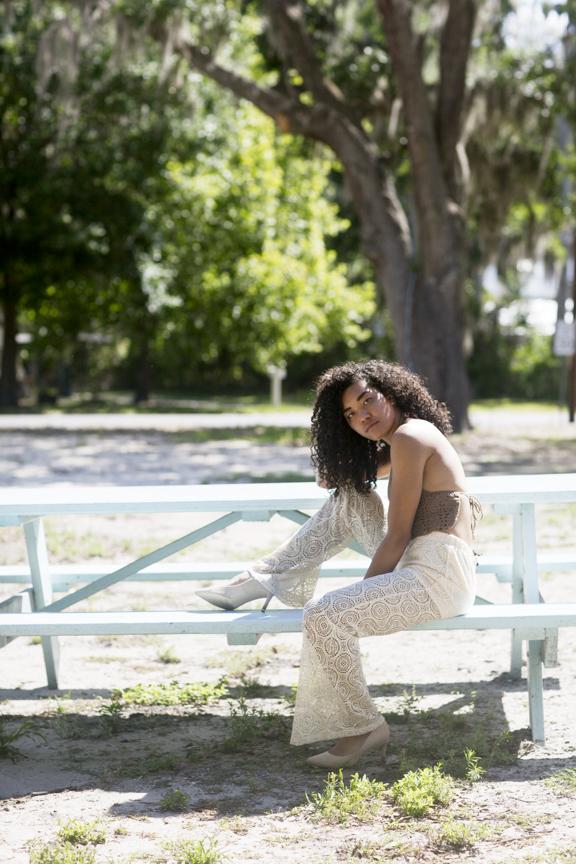Model: Jaz Solana  Stylists: William Fancher & Dana Cariello