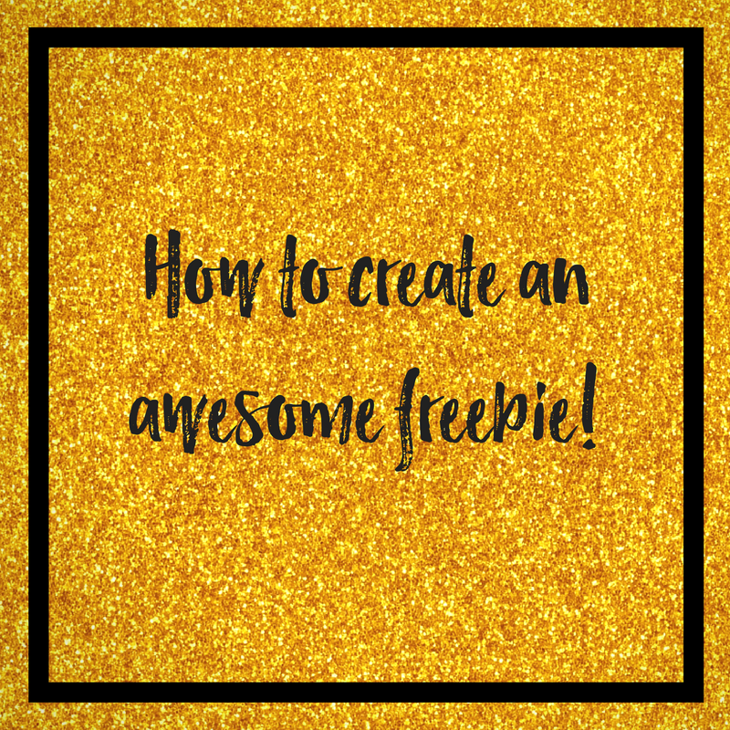 How To Create An Awesome Freebie