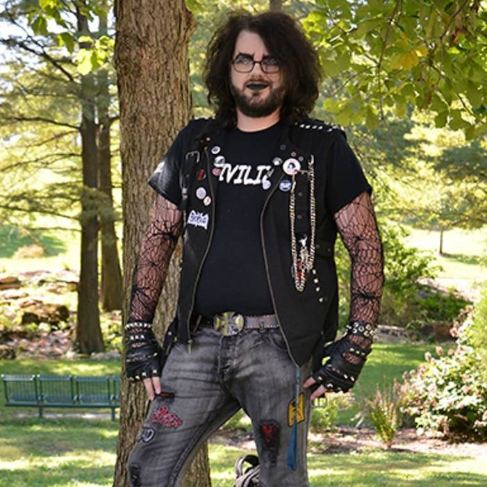 Chandler Crenladh - St. Louis local co-organizer for Gateway Goth Events.
