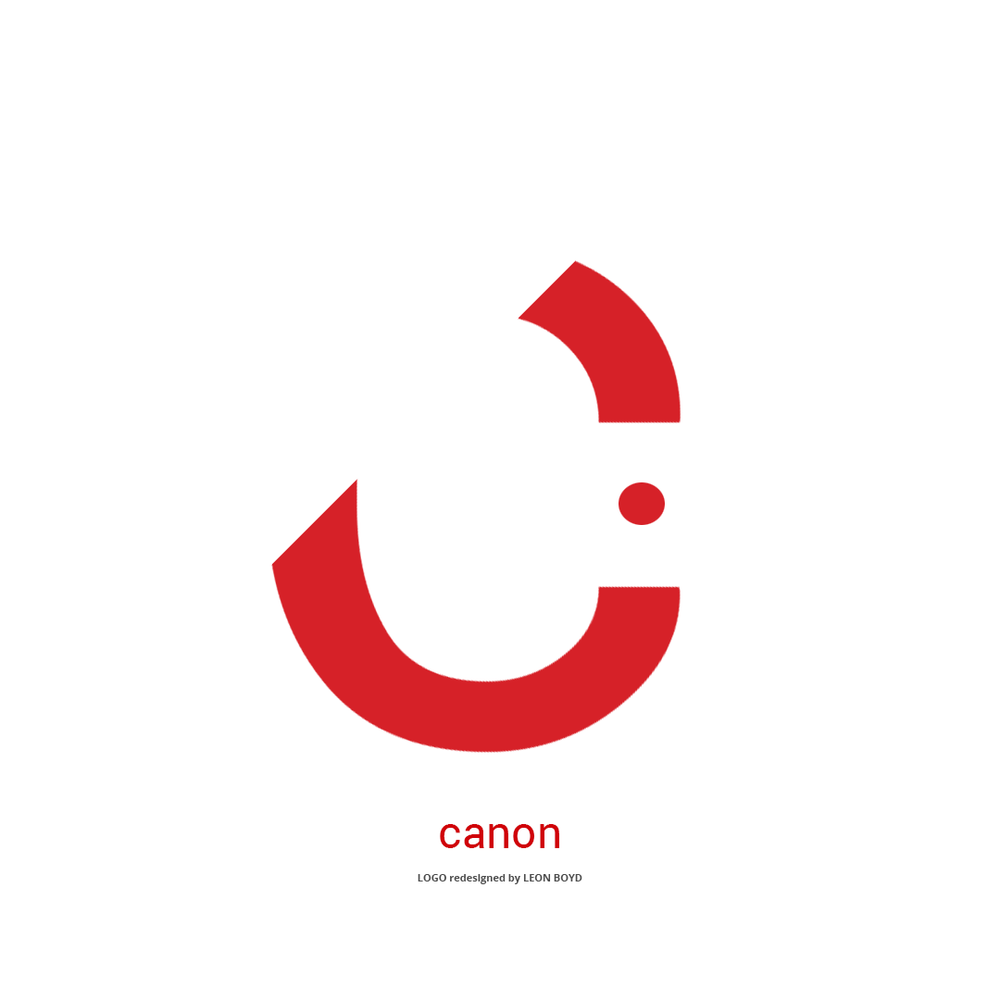 Canon LOGO Redesigned by LEON BOYD
