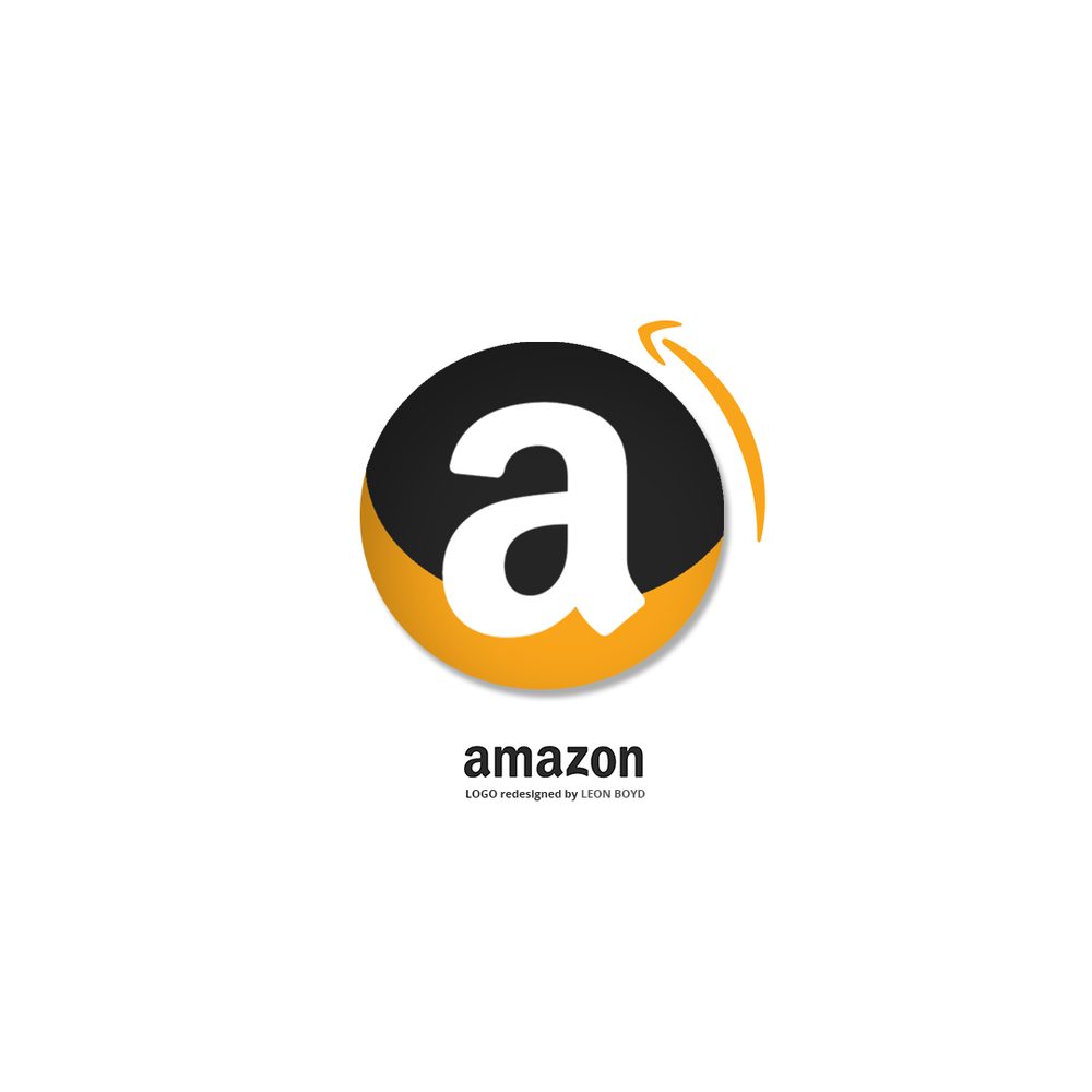 Amazon LOGO Redesigned by LEON BOYD