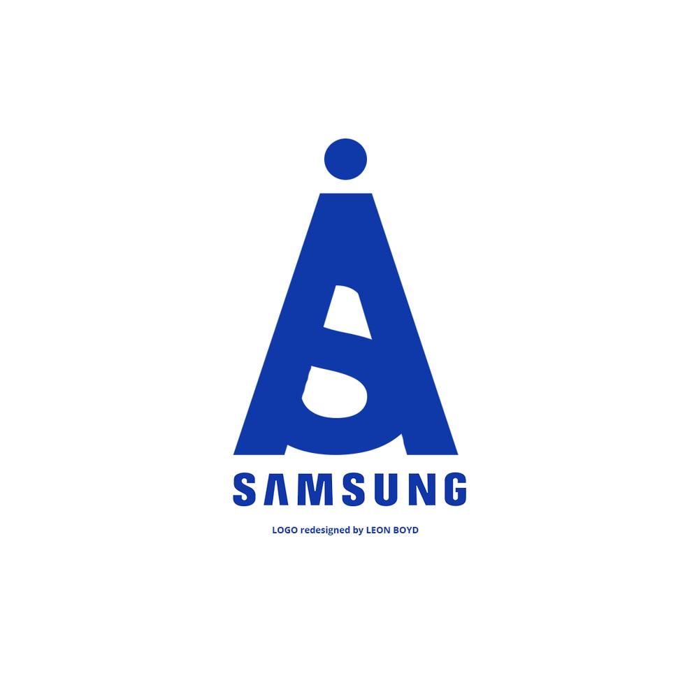 Samsung LOGO Redesigned by LEON BOYD