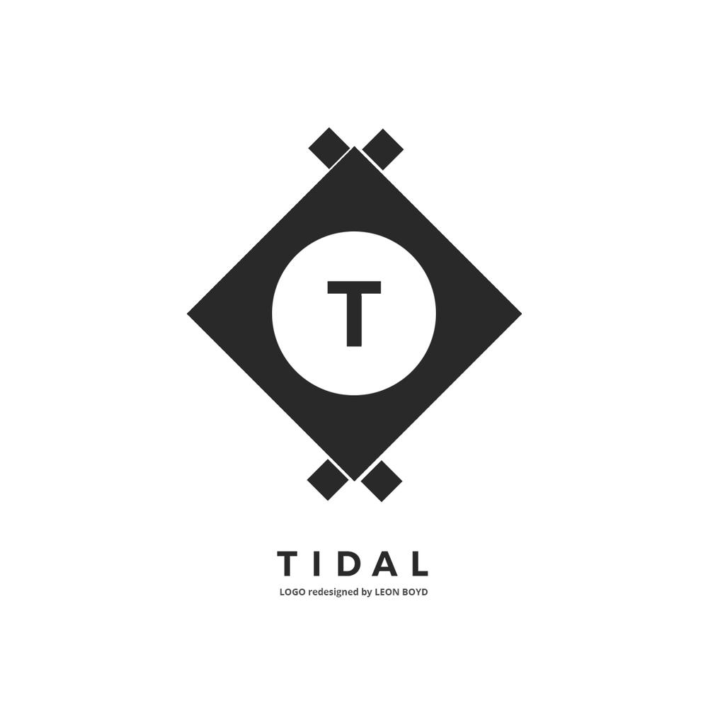 Tidal LOGO Redesigned by LEON BOYD