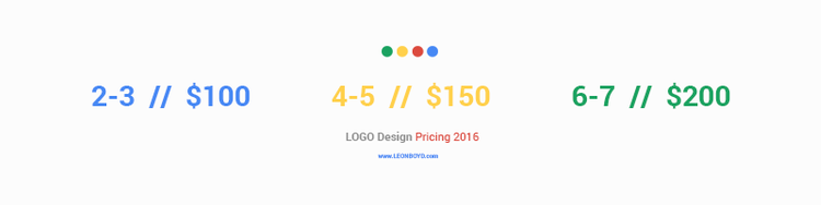 LOGO Pricing | LEON BOYD of www.LEONBOYD.com