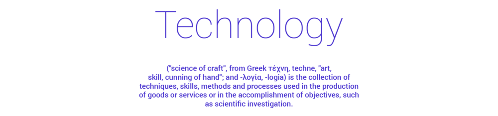 Define Technology; Designed by LEON BOYD of www.LEONBOYD.com