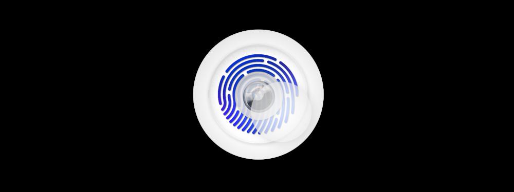 Fingerprint Scale LEON ORB | www.LEONBOYD.com; Designed by LEON BOYD