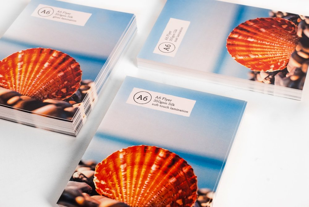 Postcards - Uncoated, Matt, Gloss or Soft touch finish