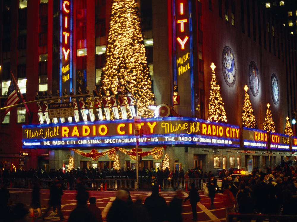 Take in the Christmas shows at Radio City Music Hall