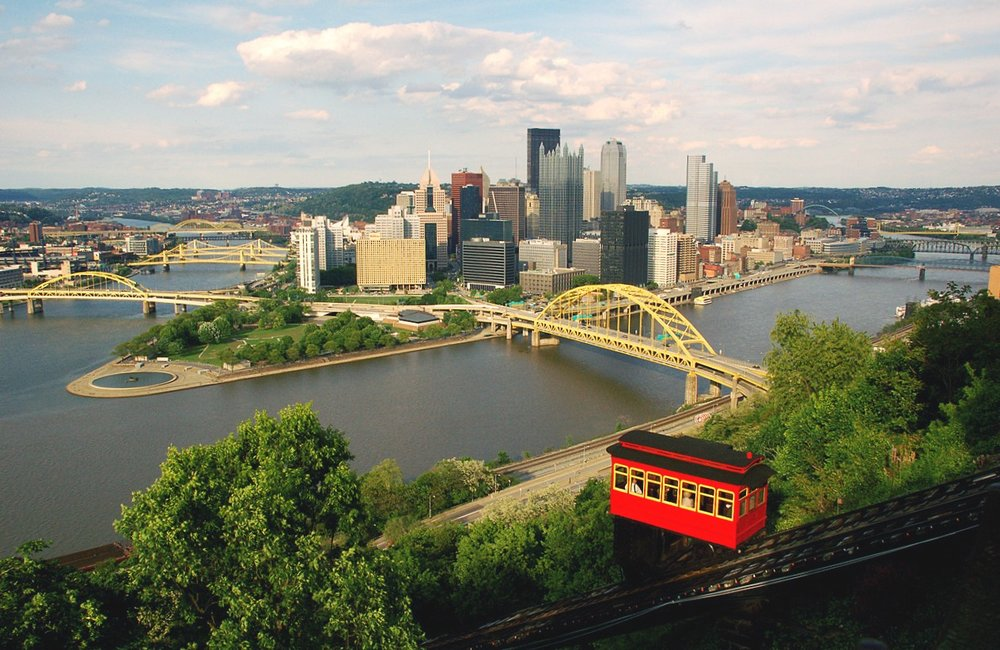 New York - Pittsburgh - Board in New York City or Philadelphia and ride to Pittsburgh. Go for sports, go for food, go for fun and enjoy the best scenery in Pennsylvania along the way.
