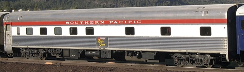 Birch Grove - This Southern Pacific 10/6 Sleeper provides up to 22 people with private travel and sleeping quarters...