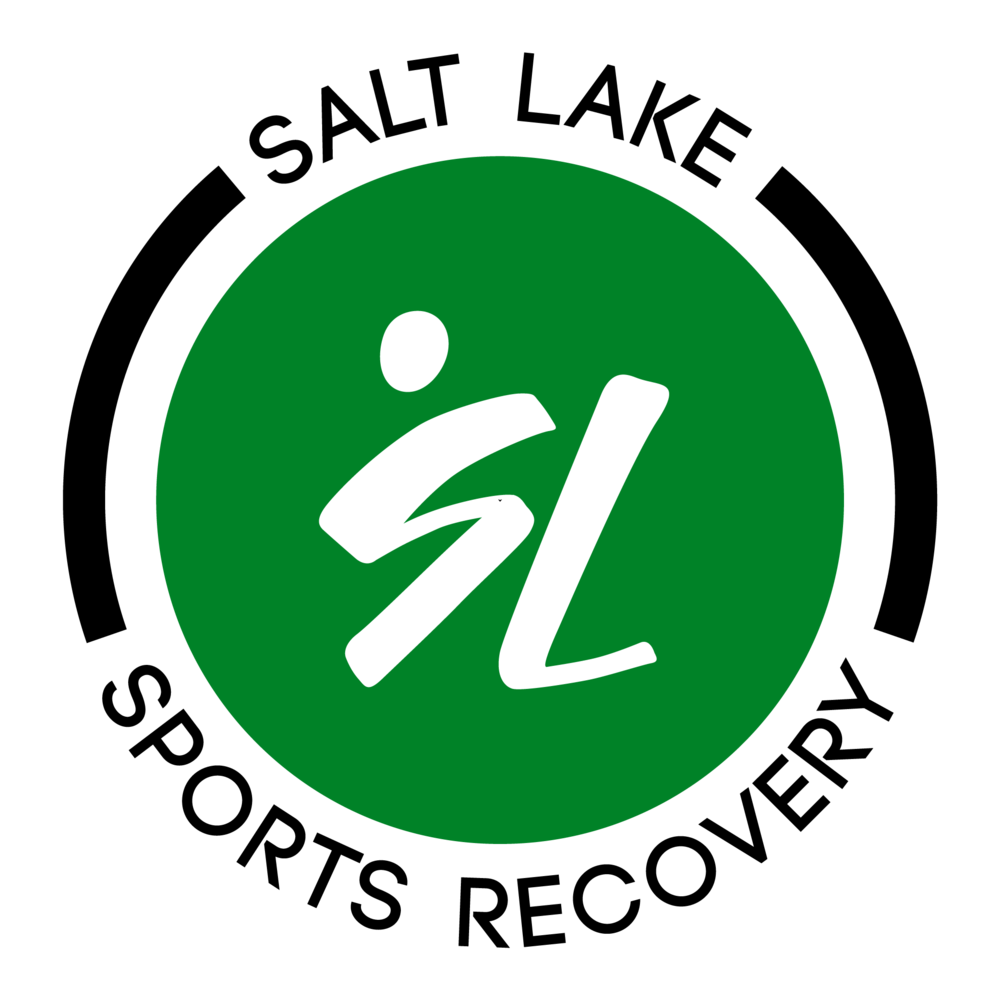 Circle within circle, black outer, green inner with white logo.png