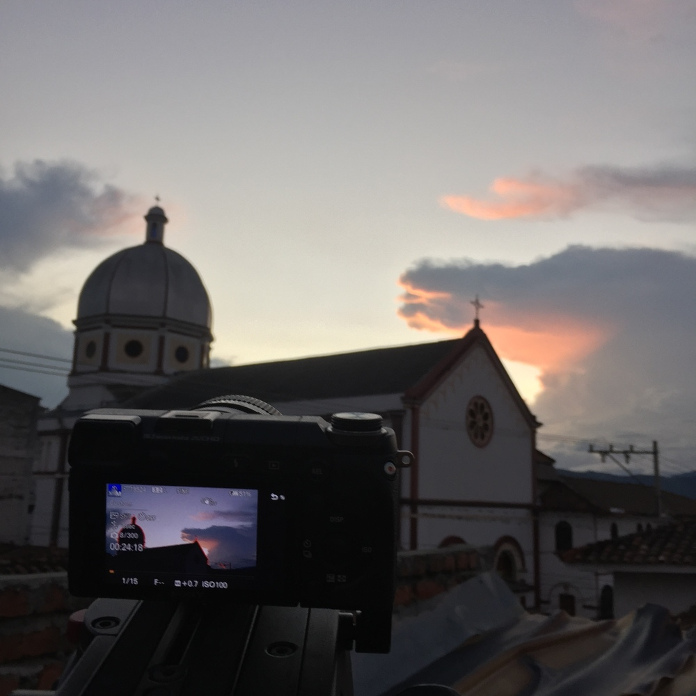 Timelapse in Buga Colombia