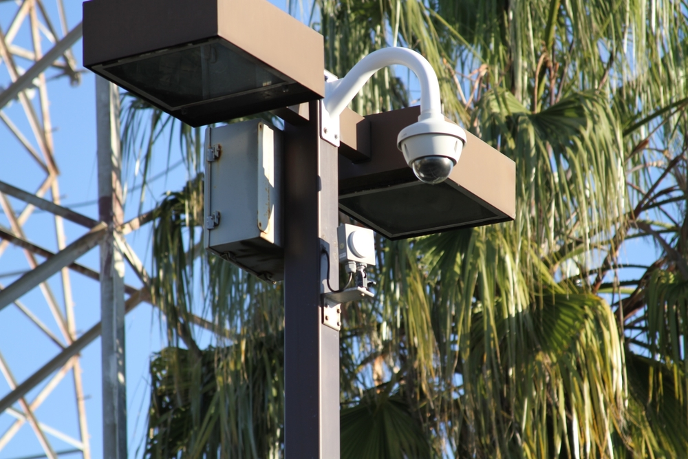 Parking Lot Camera with Wireless Transmitter