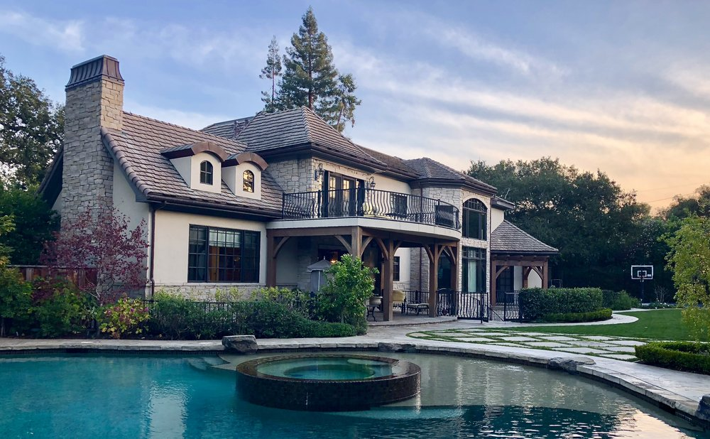 (Here is a beautiful Silicon Valley home that ZettaComm Technology Integration has upgraded with a home automation and technology integration system so they can control almost everything in their home with the touch of a button.)