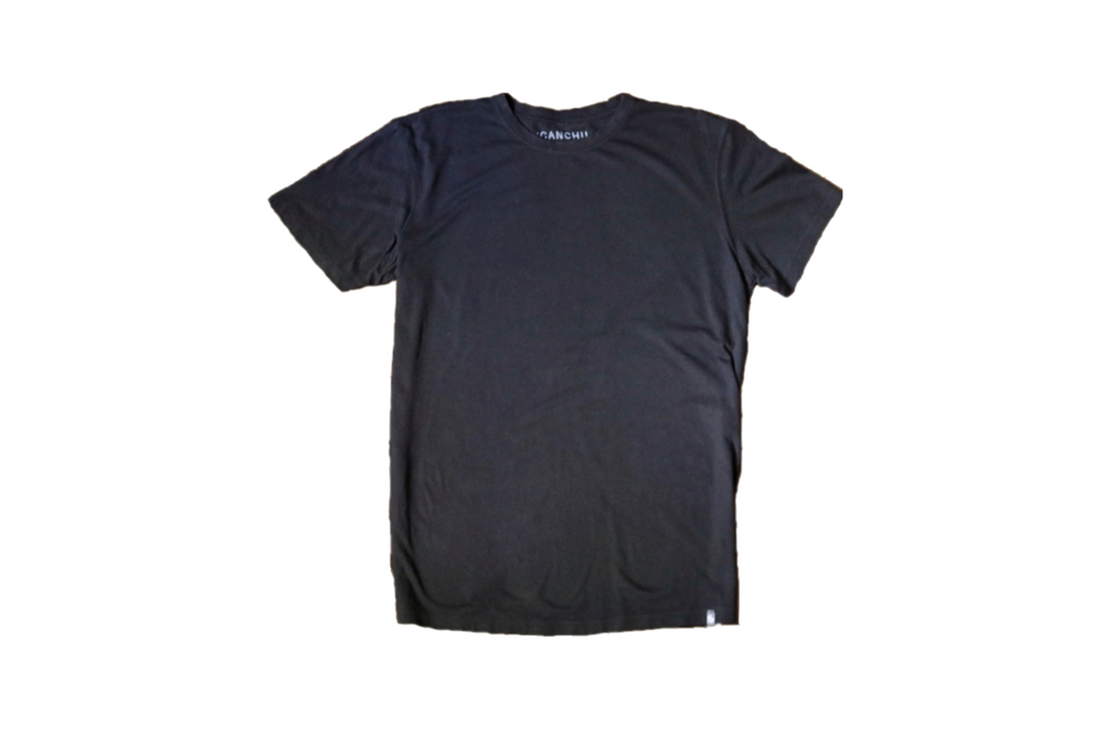 ICANCHU ESSENTIAL T-SHIRT - BLACK