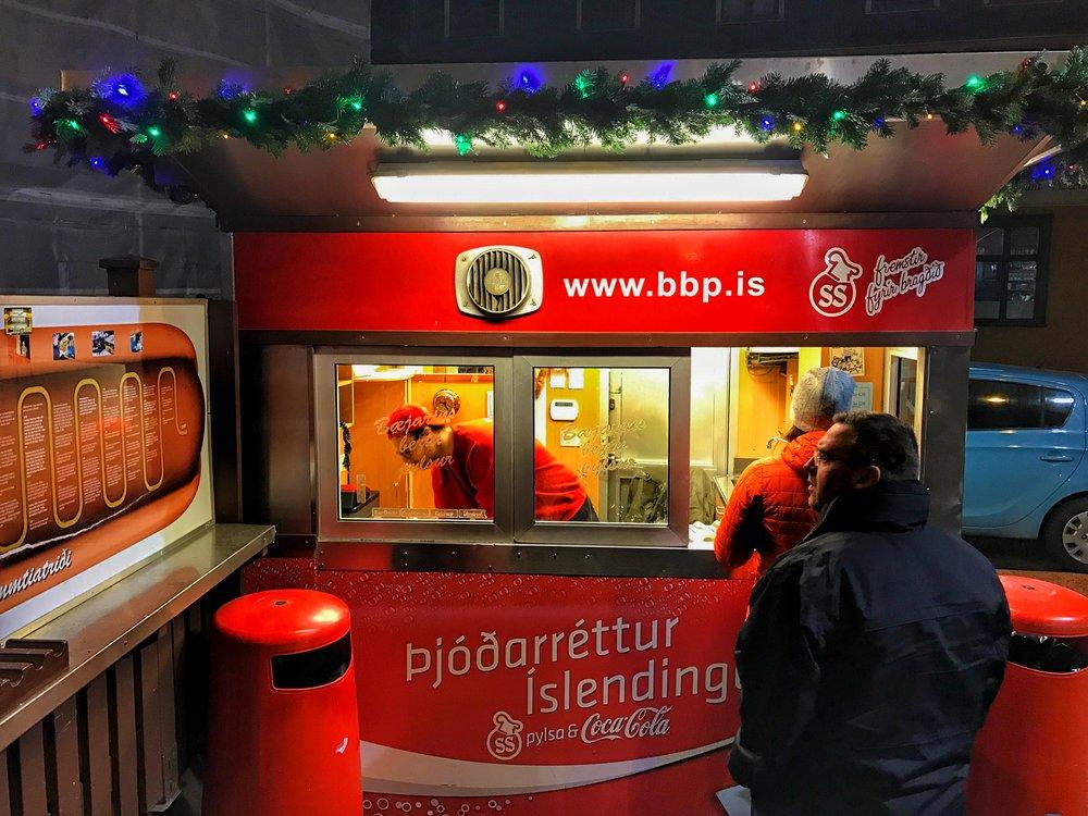 Bæjarins Beztu Pylsur Hotdog Stand