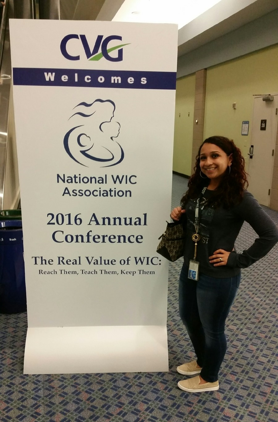 ACOG program manager, Anna-Maria Roaché looking forward to meeting with CPHMC's second cohort at their Pre-Conference in Cincinnati, OH.