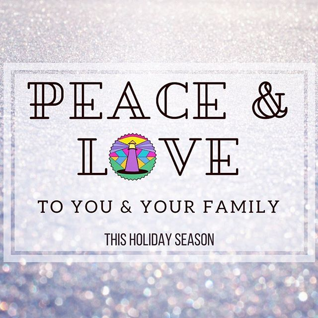 Wishing you and your family peace and love this season! Have a wonderful winter break! See you in 2018 #newyear #community