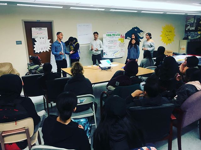 Heart. Full. Puma Prevent leading a workshop on the importance and power of CONSENT to Willie Brown MS students.  #youthdevelopment  #youthleadership  #bridgingthegap  #knowyourrights  #bayviewymca  @sf_dcyf thank you for making this work possible