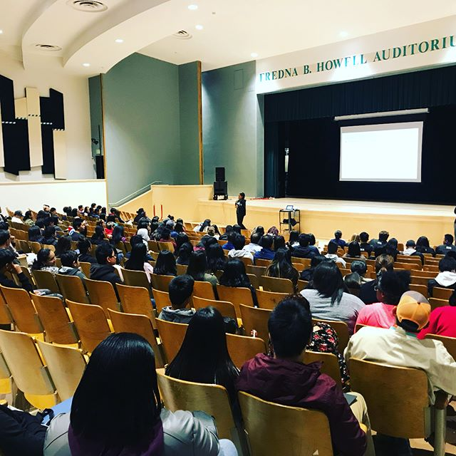 Freshman Family Day is happening now! Welcome class of 2022! #paceyourself #bayviewymca