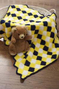 Entrelac Blanket