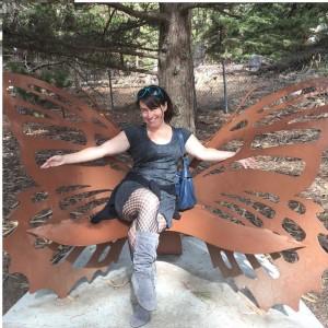 Kathryn Vercillo spreading her wings