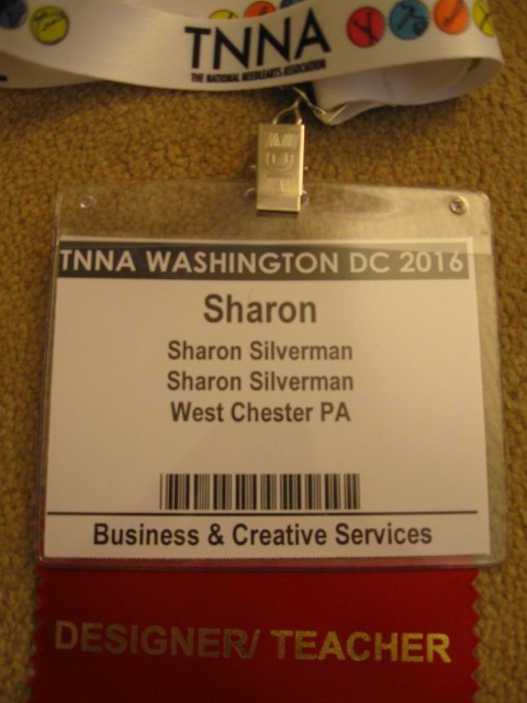 My official Designer/Teacher badge