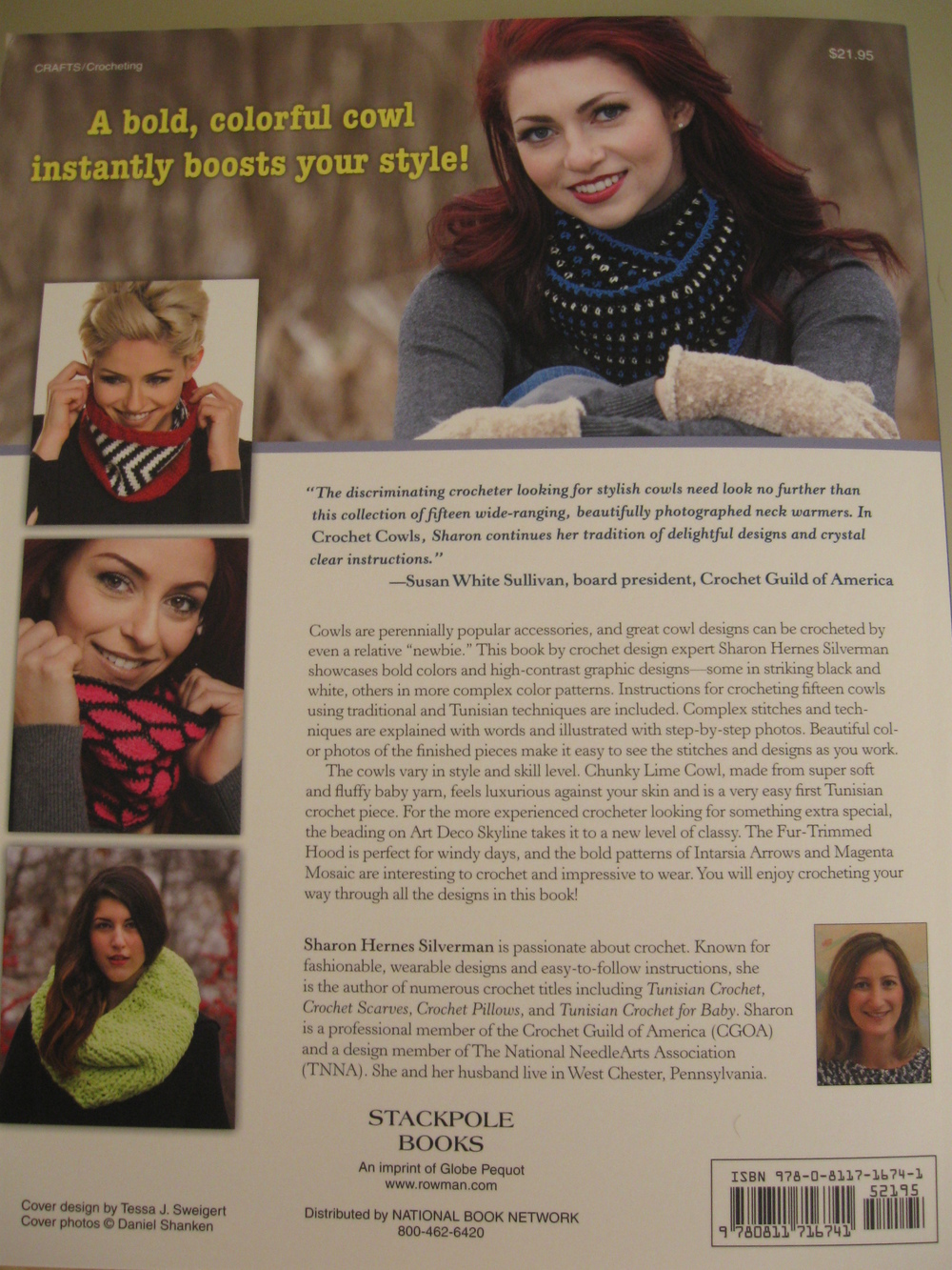 The back cover. Thanks to Susan White Sullivan for such a nice endorsement!