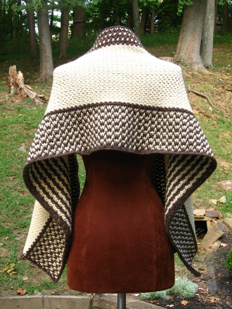 Fishermen's Wool Wrap, Back View (Medium).JPG