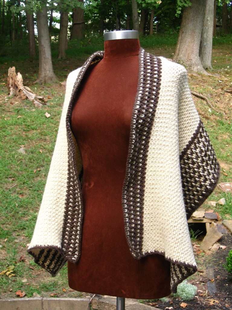 Fishermen's Wool Wrap, Open, Front View (Medium).JPG