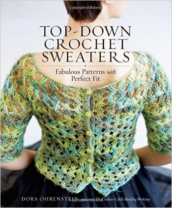 Dora Ohrenstein's latest crochet book.