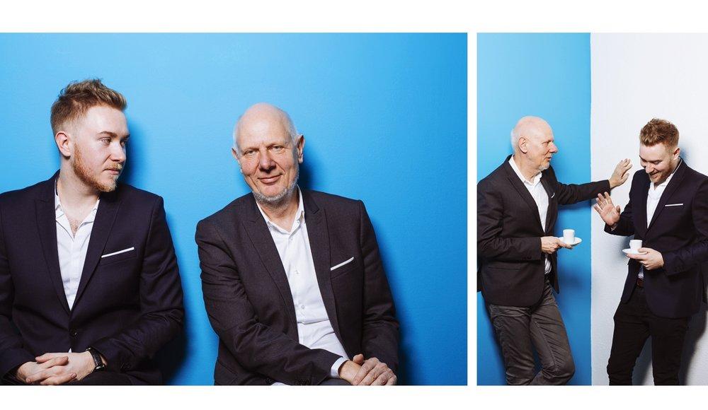 Matthias Horx + Tristan Horx.  futurologists.
