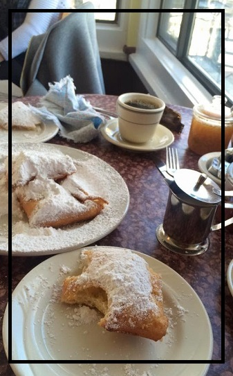 Beignets. Another lagniappe from New Orleans.